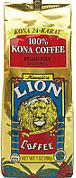 Lion Coffee Hawaii - 100% Kona Coffee - 24 Karat - Medium Light roast - Beans