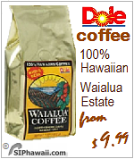 Dole Coffee Waialua Estate Oahua Hawaii Estate Roasted