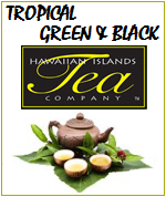 Hawaiian Islands Tea, Hawaiian Natural Teas - Tropical Flavors - Iced Tea - Black, Green, Herbal, Organic and Decaffeinated Teas