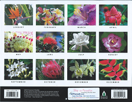 2017 Hawaiian Calendar - Flowers of Hawaii - Overview