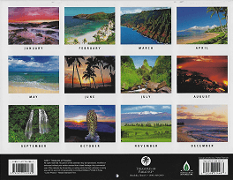 Pictorial 2018 Hawaiian Calendar - Scenery of Hawaii - Overview