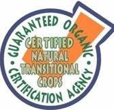 Certified by GOCA, Guaranteed Organic Certification Agency, USA).