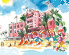 The Royal Hawaiian Hotel - Waikiki Beach LeSportsac Exclusive print Aloha Dreams