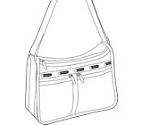 DeLuxe Everyday Bag with Expandable width.