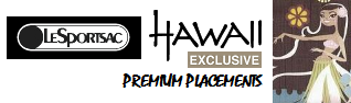 LeSportsac Hawaii Exclusive prints and outlet and shop for Elegant Everygirl Totes, Handbags, Classic Hobo and Everyday Shoulder Bags, Cosmetic Mini Bags, Sports and Weekender - Travel Duffle Bags.