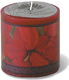 CANDLES - scented decals, decorative and relaxing - Lovely Hibiscus -