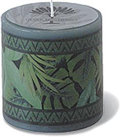 CANDLES - scented decals, decorative and relaxing - Tropical Jungle -