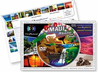 Scenic DVD Video Postcard from the islands of Maui, Molokai and Lanai - Hawaii