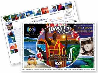 Scenic DVD Video Postcard from the Big Island of Hawaii