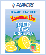 Hawaiian Sun Iced Tea Dink Mix, Vitamin C enhanced.