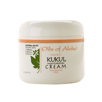 Kukui Moisturizing Cream - An all over body cream - Unscented Fregrance Free - Oils of Aloha