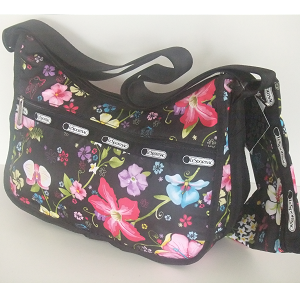 LeSportsac Hawaii Exclusive TROPICAL FLORAL Classic Hobo.