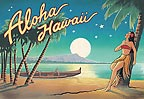 Aloha Hawaii - MAGNETS - A Little 'Spirit of Aloha' for your home - Hawaiian magnets -
