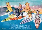 Honolulu Hot Dogs - MAGNETS - A Little 'Spirit of Aloha' for your home - Hawaiian magnets -