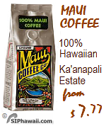 Maui Kaanapali Coffee from the Hawaiian island of Maui.