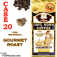 Mulvadi Kona Coffee Beans - buy the Case 20