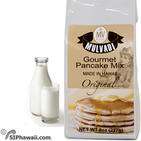 Hawaiian Complete Buttermilk Pancake Mix Unflavored Original Gourmet Regular by Mulvadi.