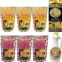 Aloha Sunset Foods Pancake mix. Variety pack. 3 Light and easy 6oz pouches for camping trips and away.