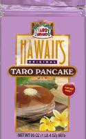 Taro Brand Pancake Mix. Hawaii's Original all purpose flour.
