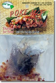 Ahi Pox Mix - Hawaiian Style Pupus - Seasoning mix for fresh raw tuna fish.
