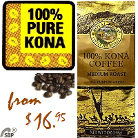 100% Kona Coffee BEANS - MEDIUM Roast Private Reserve. 100% State of Hawaii certified Kona Coffee. State of Hawaii Certification ensures that coffee beans sold as Kona are genuine and meet regulatory quality and grading standards. 100% of the green Kona Coffee beans are inspected and certified for Quality, Condition and Origin by the State of Hawaii.