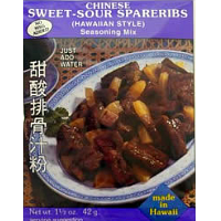 Hawaiian Style Spareribs -  Chinese Sweet and Sour Seasoning Mix.