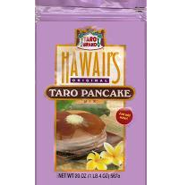 Taro Brand Pancake Mix. Hawaii's Original all purpose flour mix. Just add water.