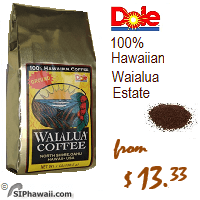 Waialua Coffee, Medium Body Light Roast Ground. This Full City Light roast is for those who prefer a sweeter, milder tasting coffee with a medium body and no bitter notes. This is the estate's original roast style. These Waialua washed process and sun dried coffee beans are toasty brown in color.