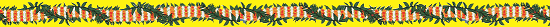 Island Ties Luggage Straps from Hawaii - Tuberose Yellow  background with Name Tag and Velcro to secure.