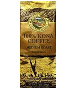 100% Kona Coffee - Royal Kona Coffee Private Reserve. All purpose Grind Coffee- Medium Roast Ground Coffee.