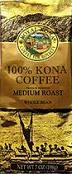 100% Kona Coffee - Roal Kona Coffee Private Reserve - Medium Roast Ground Coffee