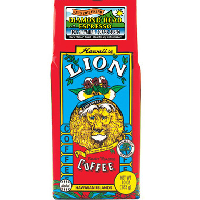 A medium dark roasted Italian style Espresso blended with 10% Hawaiian Coffee from LION Coffee Hawaii. Espresso Diamond Head. To enjoy a 'Long Black' or Americano style with a touch of Hawaii.