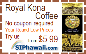 Royal Kona Coffee Coupon Promo Code