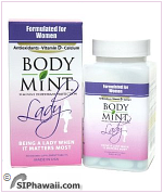Body Mint Deodorant protection - Personal Care products.