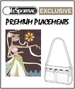 LeSportsac Hawaii Exclusive Designs with Premium Placements