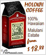 Molokai Coffees of Hawaii Estate Roasted